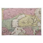 Antique Map of Sweden 2 Cloth Placemat