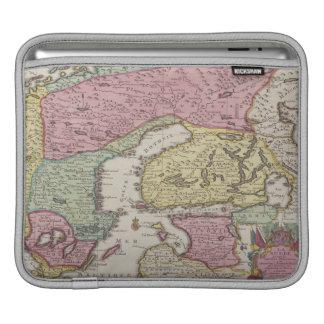 Antique Map of Sweden 2 iPad Sleeve
