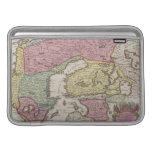 Antique Map of Sweden 2 MacBook Sleeves