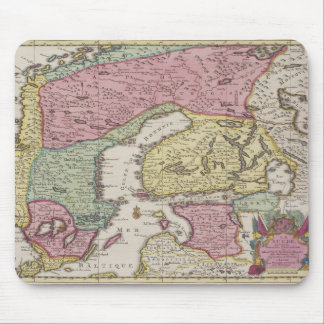 Antique Map of Sweden 2 Mouse Pad