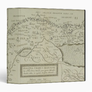 Antique Map of the Holy Land Binder