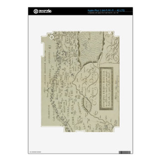 Antique Map of the Holy Land Decals For iPad 3