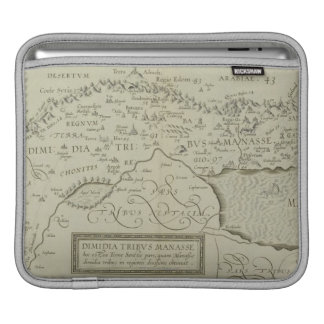 Antique Map of the Holy Land Sleeve For iPads