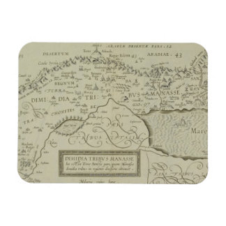 Antique Map of the Holy Land Magnet