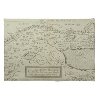 Antique Map of the Holy Land Placemat