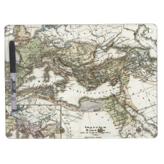 Antique Map of the Roman Empire Dry Erase Boards