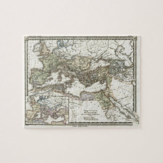 Antique Map of the Roman Empire Jigsaw Puzzle