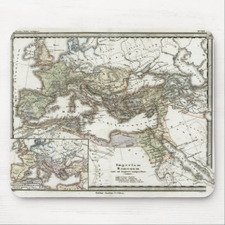 Antique Map of the Roman Empire Mouse Pad