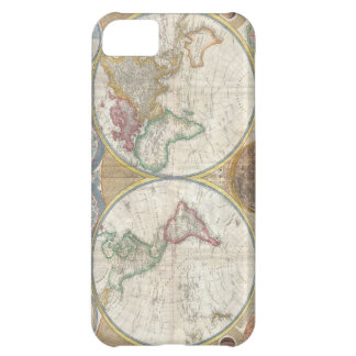Antique map of the world beautiful detailed, gift iPhone 5C cover