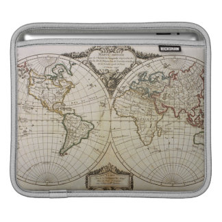 Antique Map of the World iPad Sleeve