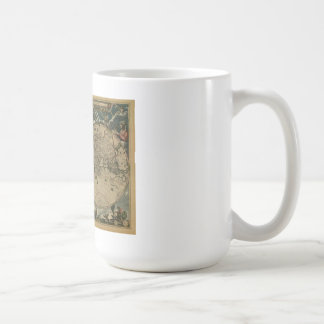 Antique Map of the World Classic White Coffee Mug