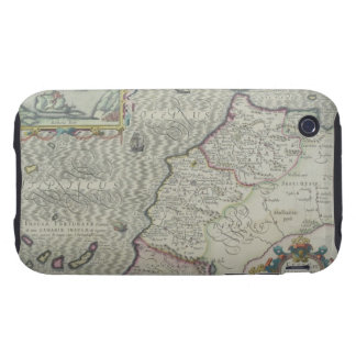 Antique Map of West Africa iPhone 3 Tough Covers