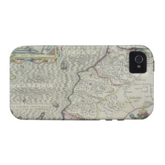 Antique Map of West Africa Case For The iPhone 4