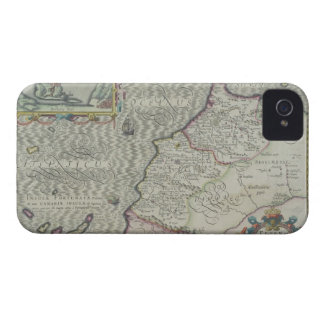 Antique Map of West Africa Case-Mate iPhone 4 Cases