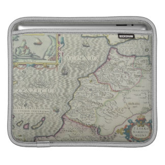 Antique Map of West Africa Sleeve For iPads