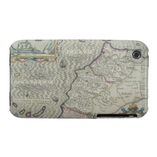 Antique Map of West Africa iPhone 3 Cases