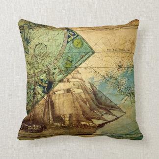 Antique Map - Pillow