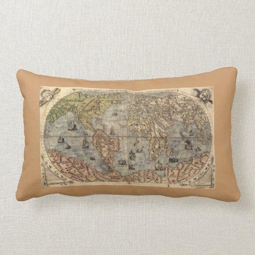 Antique Map Pillow