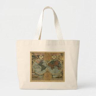 Antique Map Series Jumbo Tote Bag