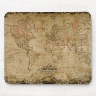 Antique Map Series mousepad