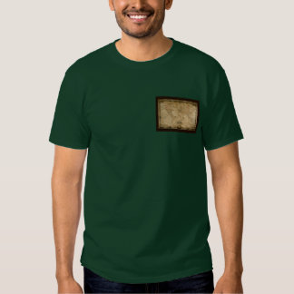 Antique Map Series T-shirts