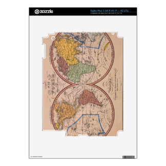 Antique Map Skin For iPad 3