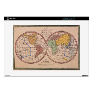 "Antique Map Skin For 15"" Laptop"