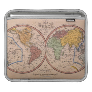 Antique Map Sleeve For iPads