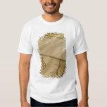 Antique map tee shirt