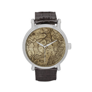 Antique Map Watch