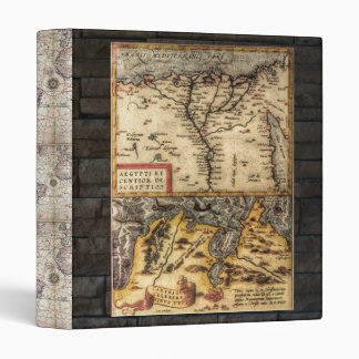 Antique Maps 3 Ring Binders