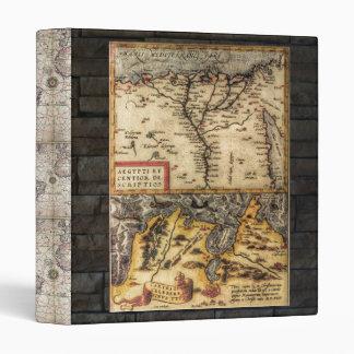Antique Maps Binder