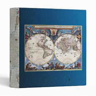 Antique Maps of The World Binder