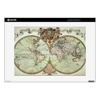 Antique Maps of the World Laptop Skin