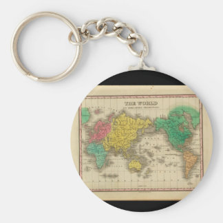 Antique Maps of the World_Maps of Antiquity Keychain