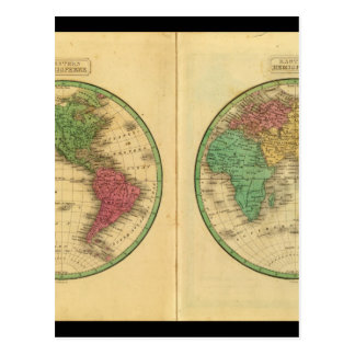 Antique Maps of the World_Maps of Antiquity Postcard