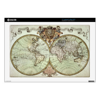 Antique Maps of the World Skins For Laptops
