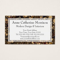 Antique Marble Paper Camouflage Style Pattern Business Card