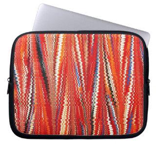 Antique Marbled-Paper Laptop Bag