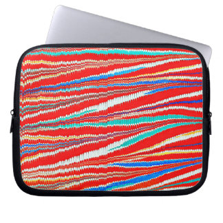 Antique Marbled Paper Laptop Sleeve