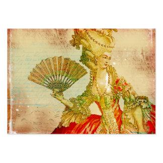 Antique Marie Antoinette Business Cards