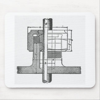 Antique Mechanical Tool Engineer Mouse Pad