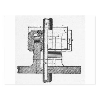 Antique Mechanical Tool Engineer Postcard