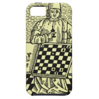 Antique Medieval Chess Woodcut iPhone 5 Case