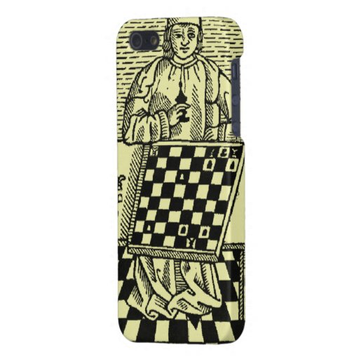 Antique Medieval Chess Woodcut Cases For iPhone 5