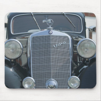 antique mercedes 2 mouse pad