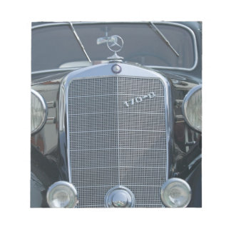 antique mercedes 2 notepad