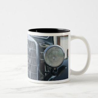 antique mercedes 2 Two-Tone coffee mug
