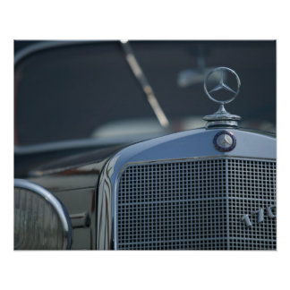 antique mercedes 4 poster