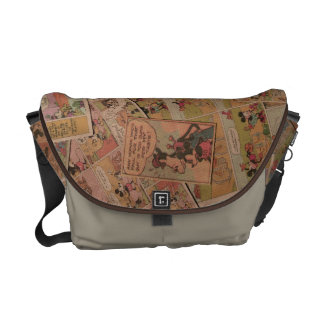 Antique Mickey 1 Messenger Bags